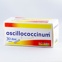 OSCILLOCOCCINUM 200K 30 DOSI DILUIZIONE KORSAKOVIANA IN GLOBULI