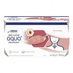 RESOURCE AQUA ACQUA GELIFICATA+PEACH CUP 6 4X125 G