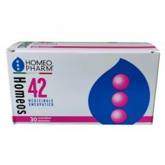 HOMEOS 42 GLOBULI 30 TUBI