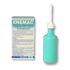 ENEMAC 16,1G/100ML+6G/100ML SOLUZIONE RETTALE