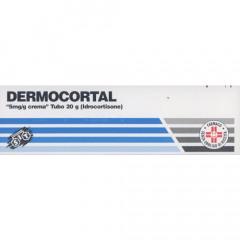 DERMOCORTAL 5 MG/G CREMA