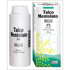 MENTOLO SELLA 1% POLVERE CUTANEA