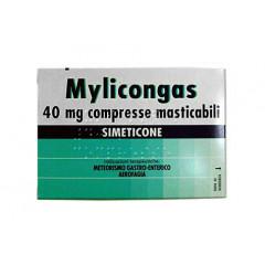MYLICONGAS 40 MG COMPRESSE MASTICABILI