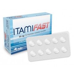 ITAMIFAST 25 MG COMPRESSE RIVESTITE CON FILM
