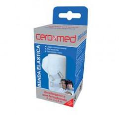 BENDA ELASTICA CEROXMED 10X450 CM CON GANCIO 1 PEZZO