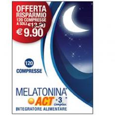 MELATONINA ACT 1MG +3 COMPLEX 120 COMPRESSE