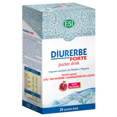ESI DIURERBE FORTE POCKET DRINK MELOGRANO 24 X 20 ML