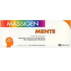 MASSIGEN MENTE 14 FLACONCINI 10 ML