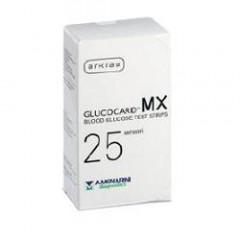 STRISCE MISURAZIONE GLICEMIA GLUCOCARD MX 25 PEZZI