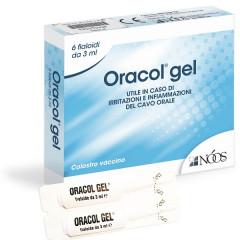 ORACOL GEL 6 FIALE 3 ML