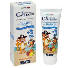 PASTA CAPITANO DENTIFRICIO BABY T FRU 75 ML