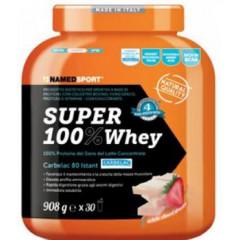 SUPER100% WHEY SMOOTH WHITE CHOCO/STRAWBERRY 908 G