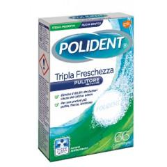POLIDENT TRIPLA FRESCHEZZA 66 COMPRESSE