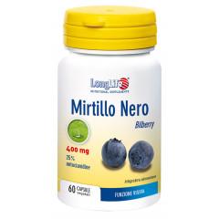 LONGLIFE MIRTILLO NERO 60 CAPSULE VEGETALI