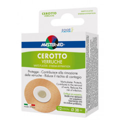 CEROTTO VERRUCHE MASTER-AID FOOT CARE 12 PEZZI