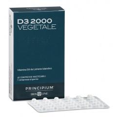 PRINCIPIUM D3 2000 VEGETALE 60 COMPRESSE