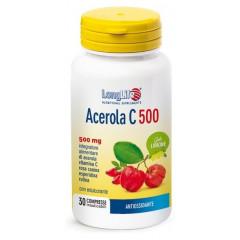 LONGLIFE ACEROLA C500 LIMONE 30 COMPRESSE