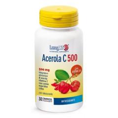 LONGLIFE ACEROLA C500 ARANCIA 30 COMPRESSE