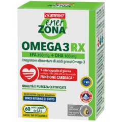 ENERZONA OMEGA 3 RX 60 MINICAPSULE