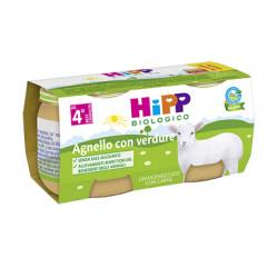 HIPP BIO OMOGENEIZZATO AGNELLO CON VERDURE 2X80 G