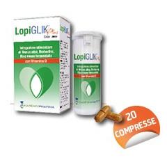 LOPIGLIK PLUS 20 COMPRESSE