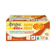 APROPOS VITA+ PAPPA REALE 1000MG 10 FLACONCINI DA 10 ML