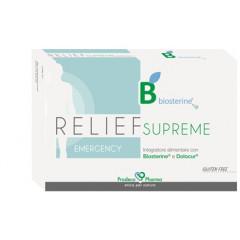 BIOSTERINE RELIEF SUPREME EMERGENCY 12 COMPRESSE