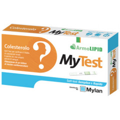 TEST COLESTEROLO ARMOLIPID MYTEST 2 PEZZI