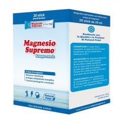 MAGNESIO SUPREMO SEMPRE CON TE 20 STICK PACK X 20 ML