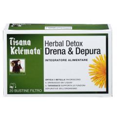TISANA HERBAL DETOX DRENA & DEPURA 20 BUSTINE