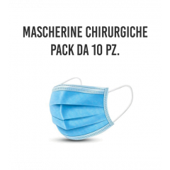 MASCHERINA CHIRURGICA 10 PZ